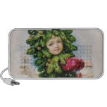 Clapsaddle: Fir Boy with Snowball iPod Speaker