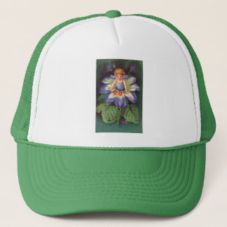 Clapsaddle: Flower Cherub Aster Trucker Hat
