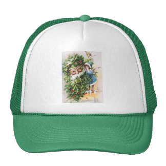 Clapsaddle: Holly Father Trucker Hat