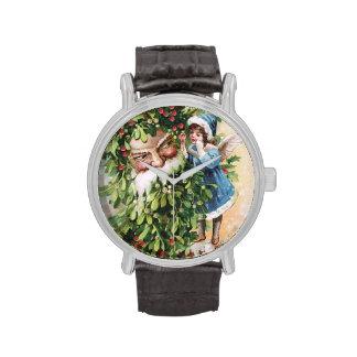 Clapsaddle: Padre del acebo Relojes De Mano