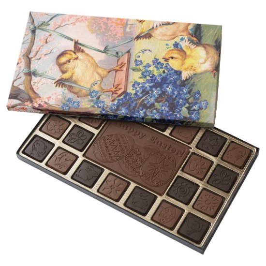 Clapsaddle: Swinging Biddy 45 Piece Box Of Chocolates