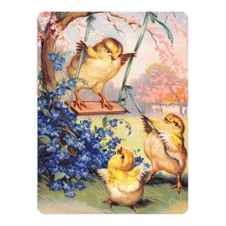 Clapsaddle: Swinging Biddy Card