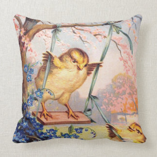 Clapsaddle: Swinging Biddy Throw Pillow