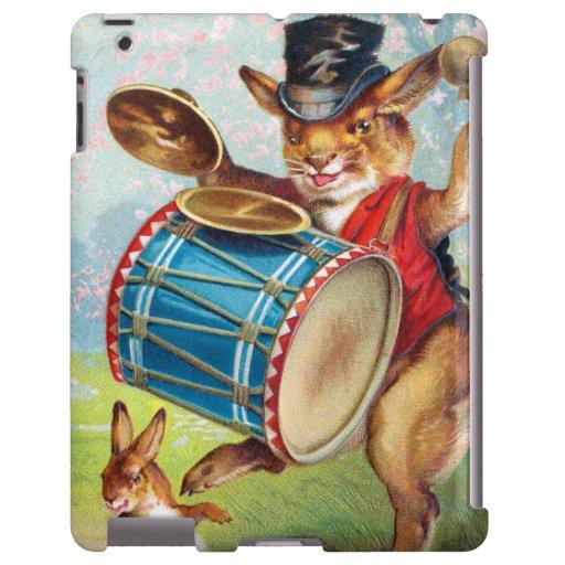 Clapsaddle: Teclear el conejo Funda Para iPad