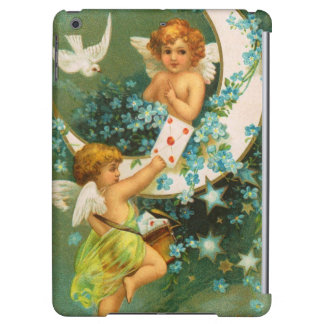 Clapsaddle: Two Cherubs on a Sickle Moon Case For iPad Air