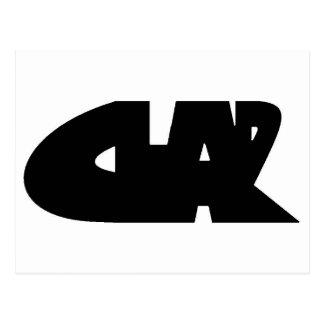 CLAR POSTCARD
