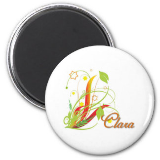 Clara 2 Inch Round Magnet