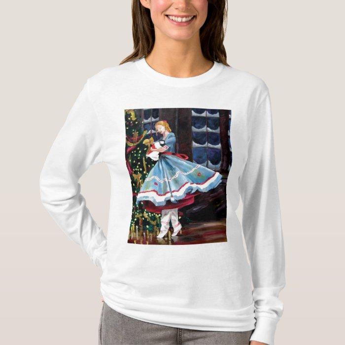 Clara and Her Nutcracker Long-Sleeved T-Shirt