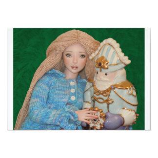 Clara and the Nutcracker 5x7 Paper Invitation Card
