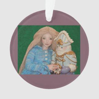 Clara and the Nutcracker Ornament