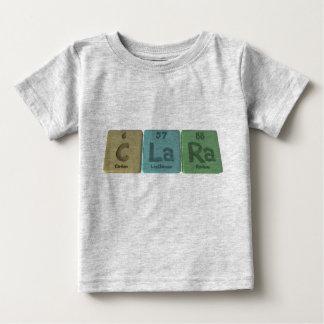 Clara as Carbon Lanthanum Radium T-shirt