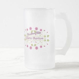 ~ Clara Barton/mujeres famosas de Barton de los E. Taza De Café