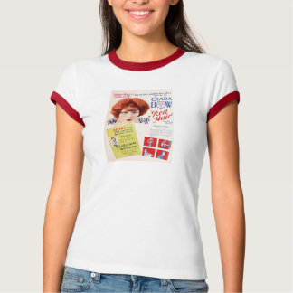 Clara Bow 1927 movie advertisement 'Red Hair' T-Shirt