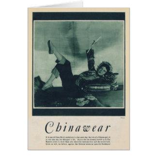 Clara Bow 1929 vintage portrait card