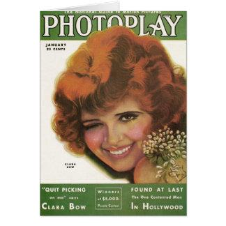 Clara Bow 1931Card Card