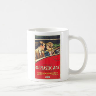 Clara Bow el cartel de película plástico de la eda Tazas De Café