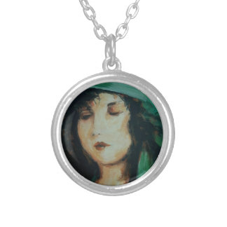 Clara Bow Personalized Necklace