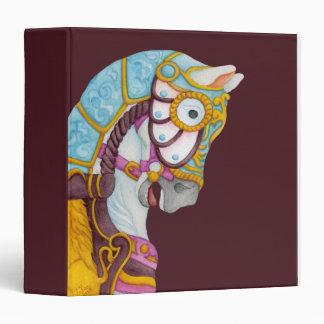 Clara Carousel Horse Avery Binder
