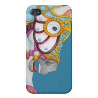 Clara Carousel Horse iPhone 4/4S Cases