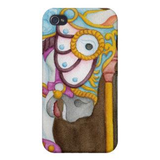 Clara Carousel Horse iPhone 4/4S Covers