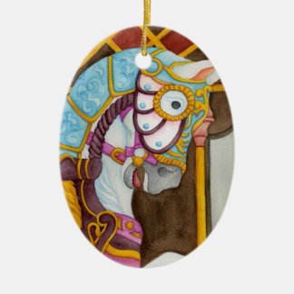 Clara Carousel Horse Ornament