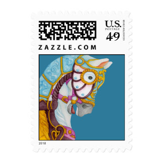 Clara Carousel Horse Postage
