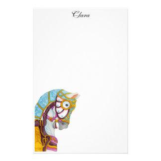 Clara Carousel Horse Stationery