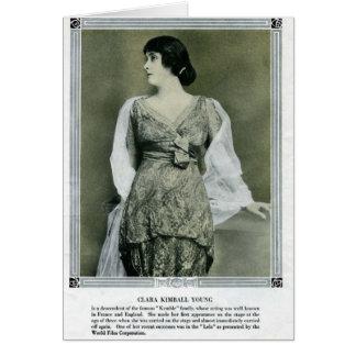 Clara Kimball Young 1915 portrait card