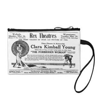 Clara Kimball Young vintage advertisement Change Purse
