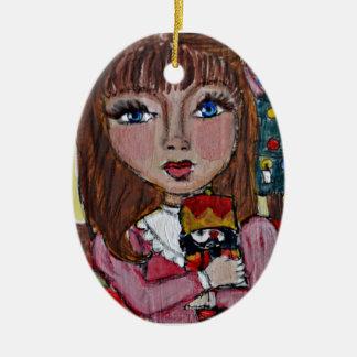 Clara Nutcracker Christmas Ornament