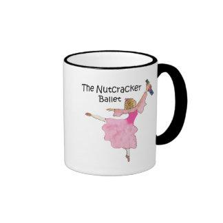 Clara preciosa y su cascanueces taza de dos colores