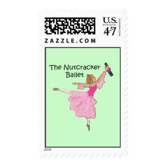 Clara preciosa y su cascanueces timbre postal