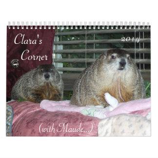 Clara s Corner 2014 Calendar C with Maude