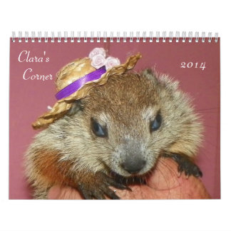 Clara s Corner 2014 Groundhog Woodchuck Calendar B