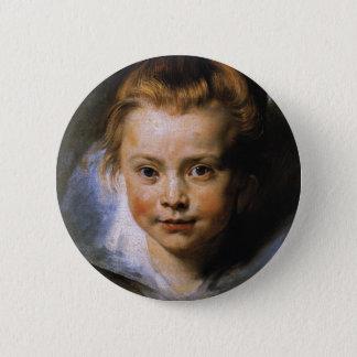 Clara Serena Rubens Pinback Button