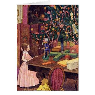 Clara y el cascanueces tarjeta de felicitación