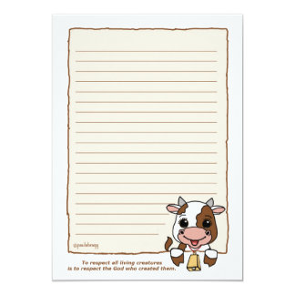 ClaraBell the Cow (Pathway Pet) Card