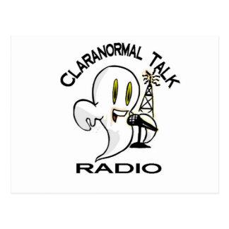 Claranormal Talk Radio Stuff Postcard