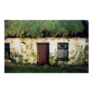 clare cottage poster