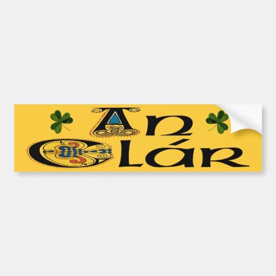 Clare (Gaelic) Bumper Sticker