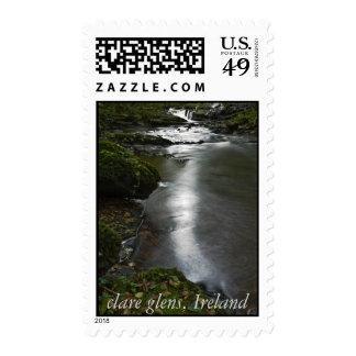 clare glens ireland postage stamps