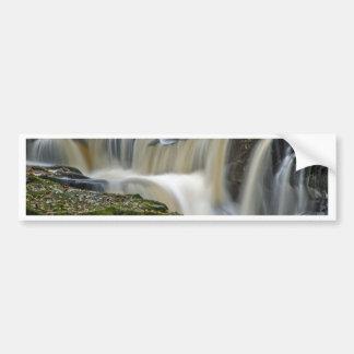 clare glens waterfall car bumper sticker