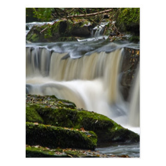 clare glens waterfall postcard