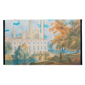 Clare Hall and King's College Chapel, Cambridge, iPad Folio Cases