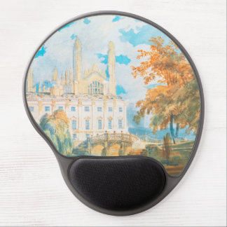 Clare Hall and King's College Chapel, Cambridge, Gel Mouse Pad