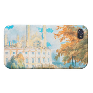 Clare Hall and King's College Chapel, Cambridge, iPhone 4 Case