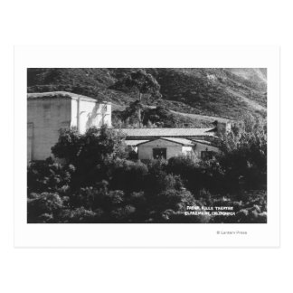 Claremont, California View of Padua Hills Theatr Postcard