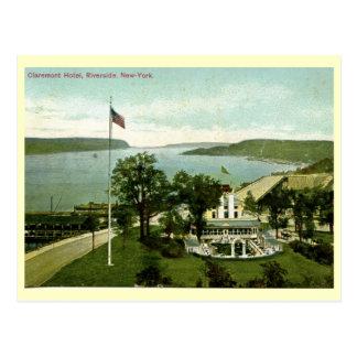 Claremont Hotel Riverside NY 1911 Vintage Post Cards