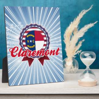 Claremont, NC Plaque