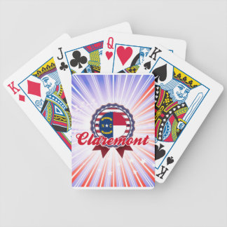 Claremont, NC Bicycle Poker Deck